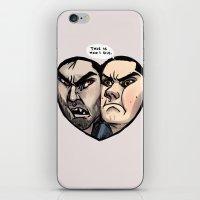 sterek iPhone & iPod Skins featuring Sterek by lolbatty