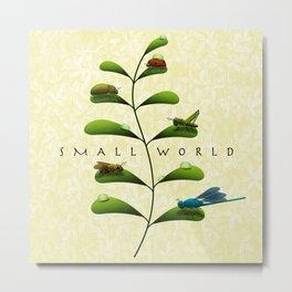 Small World Metal Print
