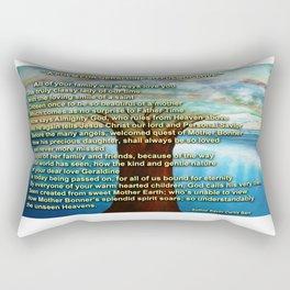 A POEM FOR GERALDINE SO FULL OF LOVE Rectangular Pillow