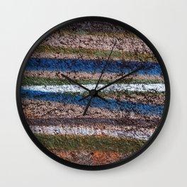 Graffiti Pattern Wall Clock