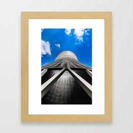 Cooling Tower Framed Art Print