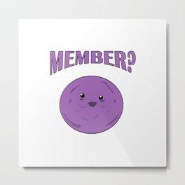 Member Berries Metal Print