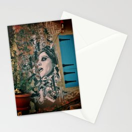 Beirut Fairuz Mar Mikhael Street Art Stationery Cards