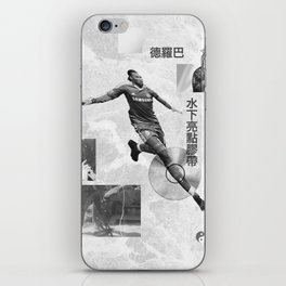 Didier Drogba Underwater Highlight Tape DVD-RW iPhone Skin