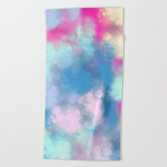 Abstract 2 Beach Towel