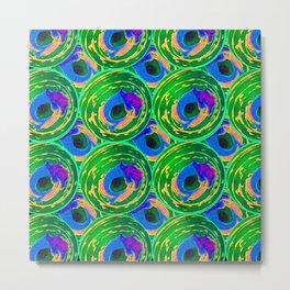 Circle Painting Number 10 Metal Print