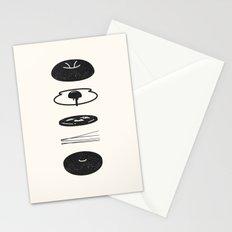Bagel Sandwich Stationery Cards