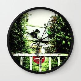 Wild Garden II Wall Clock