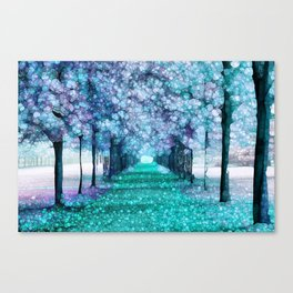 Blue Lane Canvas Print
