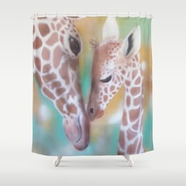 Love Is All Around Us Shower Curtain