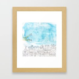 Volant Framed Art Print