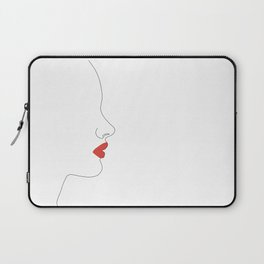Red kiss Laptop Sleeve