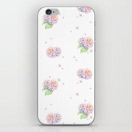 Dreamy Hydrangea iPhone Skin
