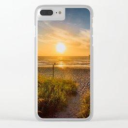 Sunrise at Cocoa Beach Clear iPhone Case