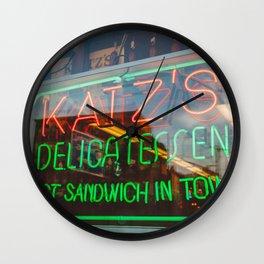 Katz III Wall Clock
