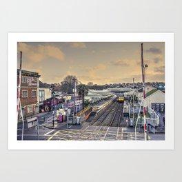 Paignton Station Art Print