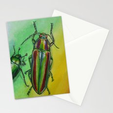 Shinny Beetle Stationery Cards