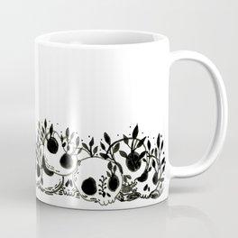 the overgrown pile of skulls Coffee Mug