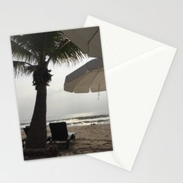 Palm tree at the ocean in Asia  Stationery Cards