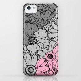 Demigirl flowers iPhone Case