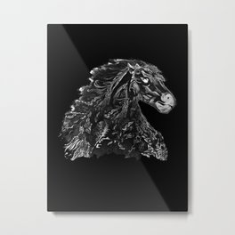 Knight Stallion Metal Print