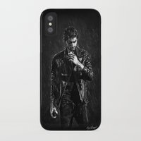 zayn iPhone & iPod Cases featuring Wet Zayn by Cyrilliart