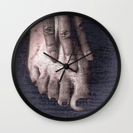 3 Fingers and 5 Toes Wall Clock