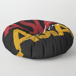 Asia for Asia Floor Pillow