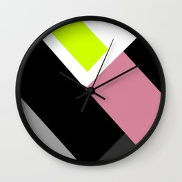 Imperfect Geometry Wall Clock