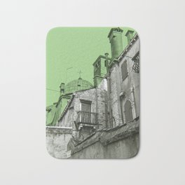 green Venice Bath Mat