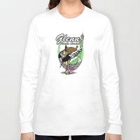 warcraft Long Sleeve T-shirts featuring Glenn, Battle Ostrich by Siegeworks