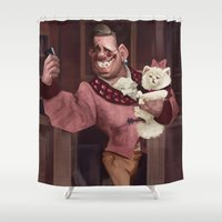 pride Shower Curtains featuring Pride by Craig Smith