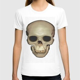 Antique Human Skull T-shirt