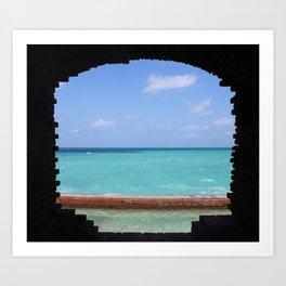 Ocean Portal Art Print