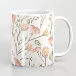 Spring Floral Pattern Coffee Mug