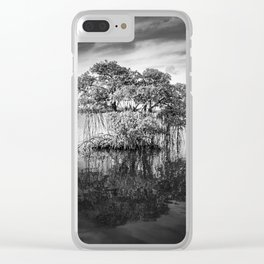 Mangove Tree Clear iPhone Case