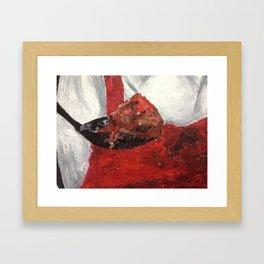 Meatball Framed Art Print