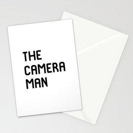 The Cameraman Filmmaking Movie Film School Stationery Cards