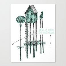 Home - ANALOG zine Canvas Print