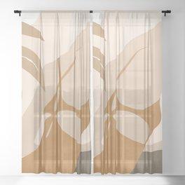Summer Day III Sheer Curtain