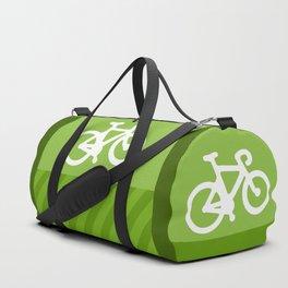 Green Bike Duffle Bag