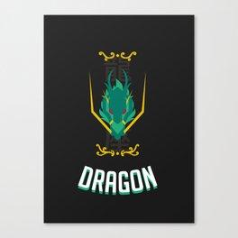 Saint of the Dark Dragon Canvas Print
