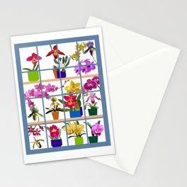 Orchids in the Window Stationery Cards