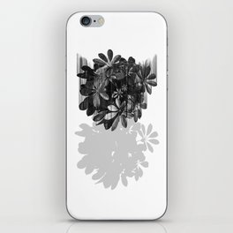 Sadly, there are no parachutes for plants. iPhone Skin