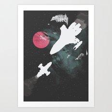 Minimal Firefly Art Print