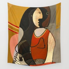 Seated Women Picasso Wall Tapestry