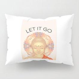 Let It Go, Typography Printable, Motivational Quote, Home Decor, Printable Art Pillow Sham