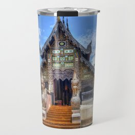 Chiang Mai Thailand Buddhist Temple Travel Mug