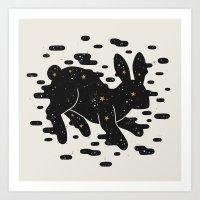 Lepus Consetellation Art Print