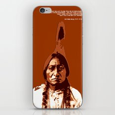 Sitting Bull Native Indian iPhone & iPod Skin
